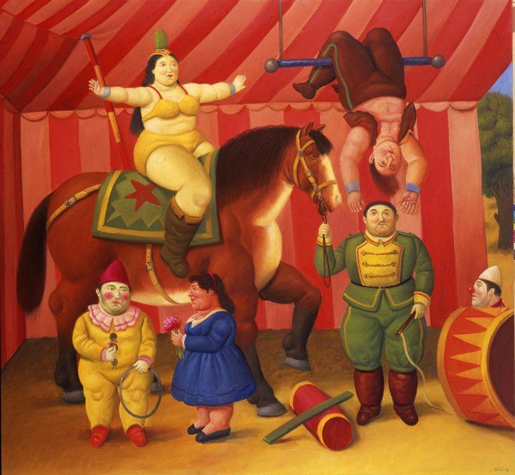Fernando Botero - Circus People, 2009