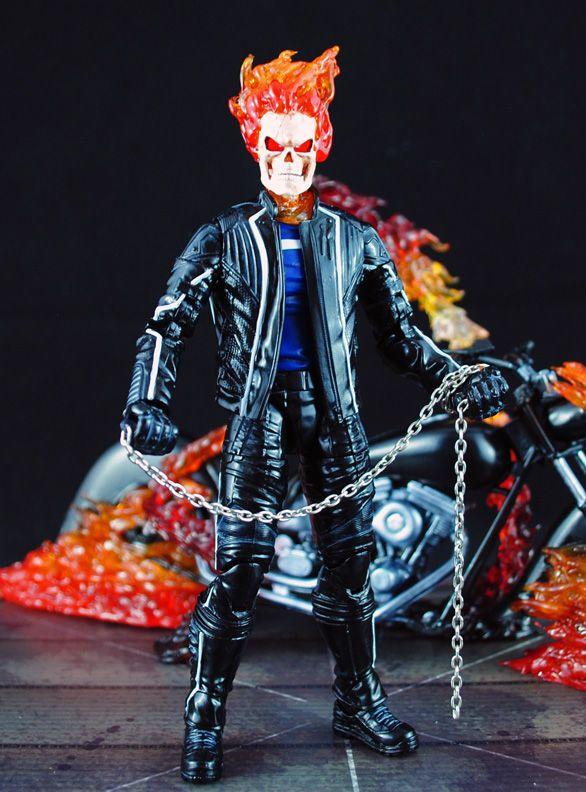 Ghost Rider Johnny Blaze (Marvel Legends) Custom Action Figure