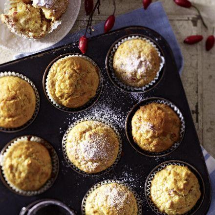 Hagebutten-Muffins Rezept