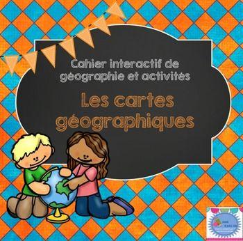 Cet ensemble d'introduction sur les cartes géographiques traite des sujets…