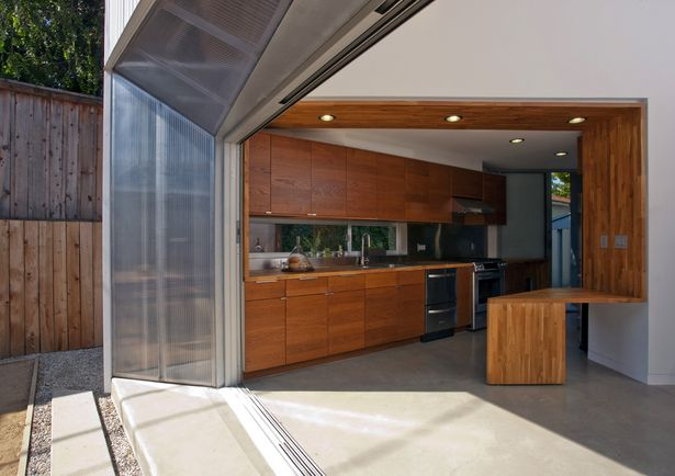 Bench & threshold. Edgewater Residence | Formation Association | Archinect