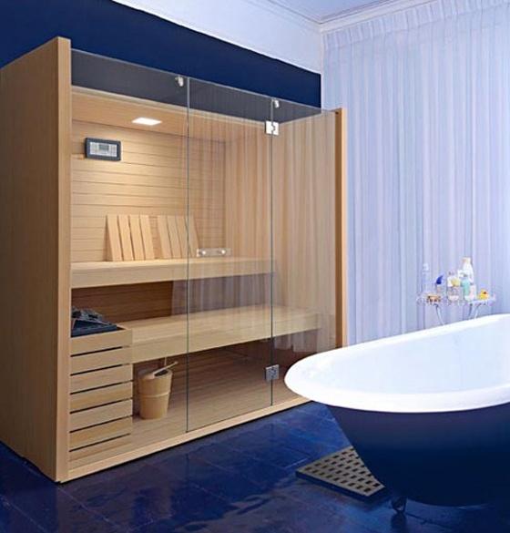 Finlandia, Contemporary Sauna Design by Effegibi
