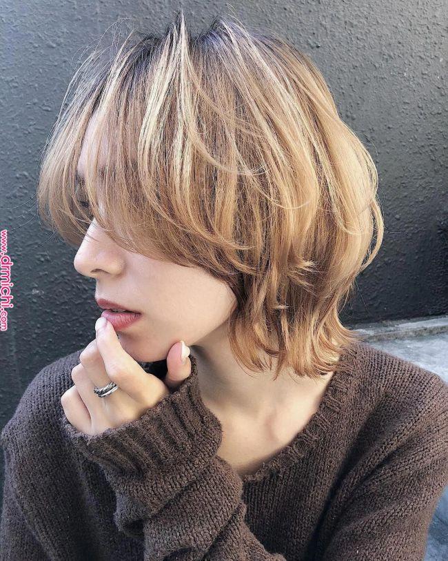 ニシムラカナ ピンクラベンダー ピンクベージュ ボブ Quot On Instagram Hair Color Haircolor Bob ミルクティーベージュ ウルフカット かわいいしかない Hair Make Knsmr ヘアスタイリング ヘアカット 髪型