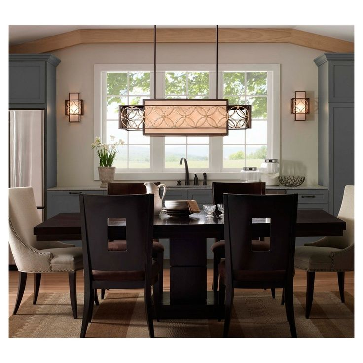 Dining Room Pendant Black Modern Dining Chair Rectangle Dining Table Jar  Bowl Napkin Flower Pot Sconce Window Grey Buffet Table Cream Carpet  Choosing Dining ...