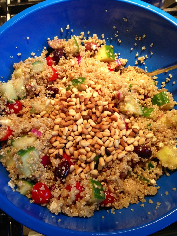 Greek Quinoa Salad | Going Green or any other Healthy Color~ | Pinter ...