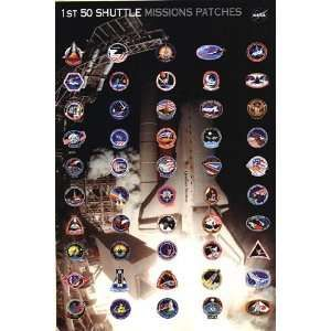 nasa patches poster - photo #12