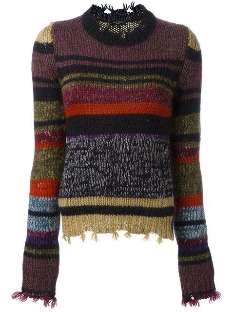 Etro свитер крупной вязки