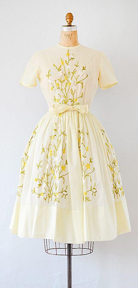 vintage 1950s dress   vintage 50s dress #vintage #1950s