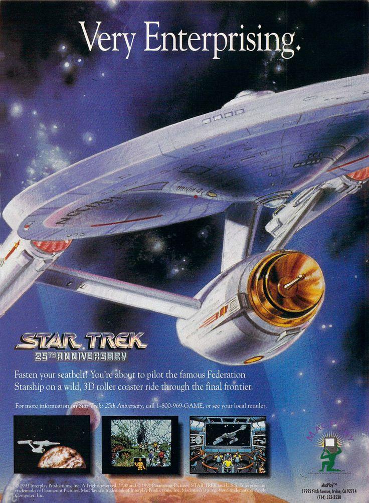 Star Trek: 25th Anniversary | print ad (1992)