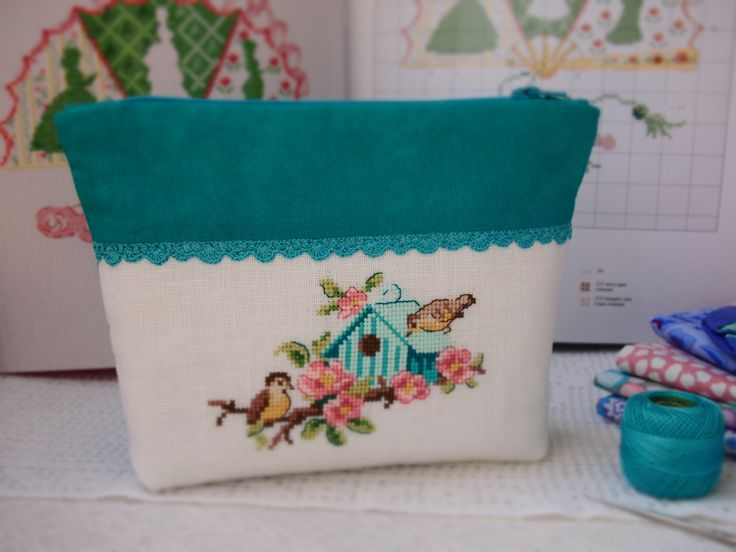 cross stitch / Veronique Enginger / Au fil des saisons