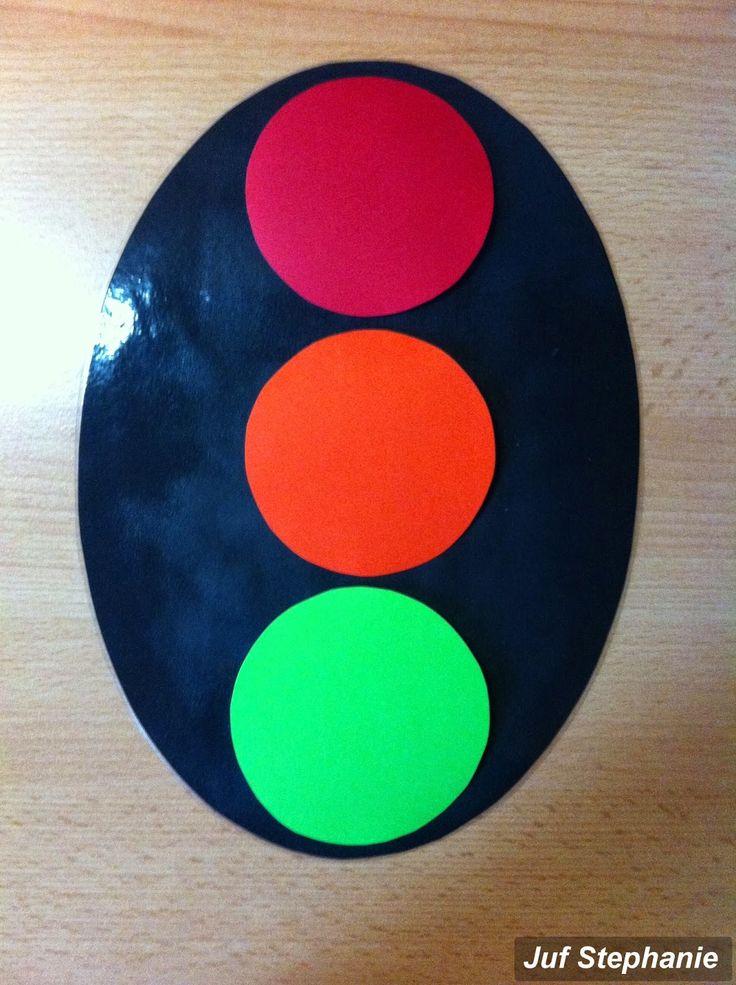 Stoplicht dat je kan gebruiken in de klas