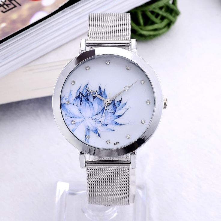 Flower/Eiffel Tower Quartz Wristwatch // Price: $10.95 & FREE Shipping Worldwide //  We accept PayPal and Credit Cards.    #pretty