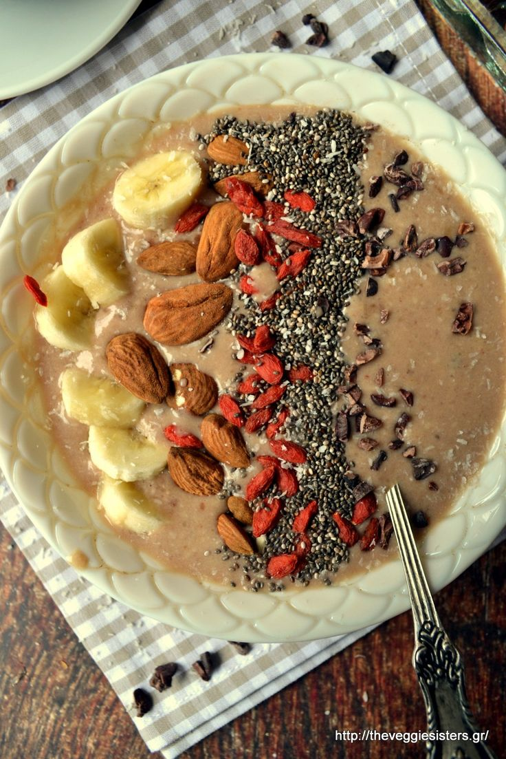 Smoothie bowl! The perfect breakfast!