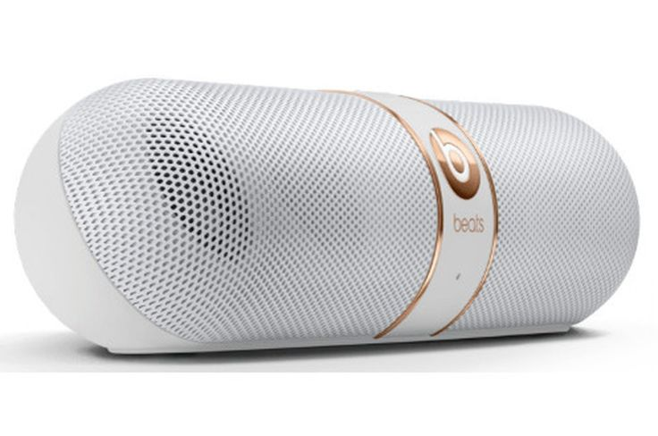 Enceinte bluetooth / sans fil Beats PILL V2 BLANC ET OR
