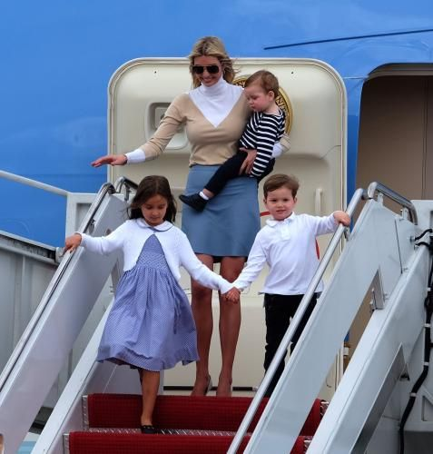 """The United States' new """"first family"""" has taken some expanded roles in President Donald Trump's administration and his… – @UPI Photo Gallery"""