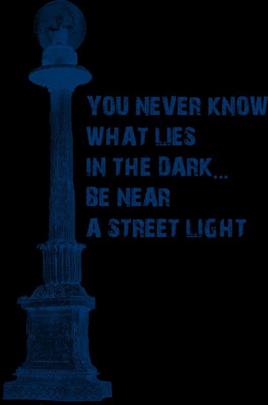 Street Light (Dark Midnight Blue) 2014 Collection  -  © stampfactor.com