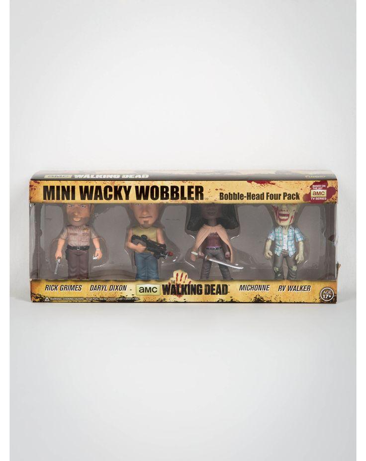 I Just Found The Walking Dead Mini Bobble Head Set