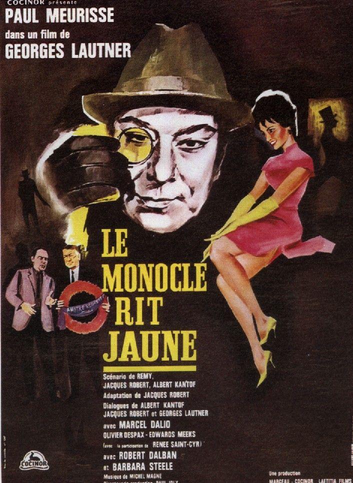 Le monocle rit jaune - Les affiches du film - Fan de Cinéma