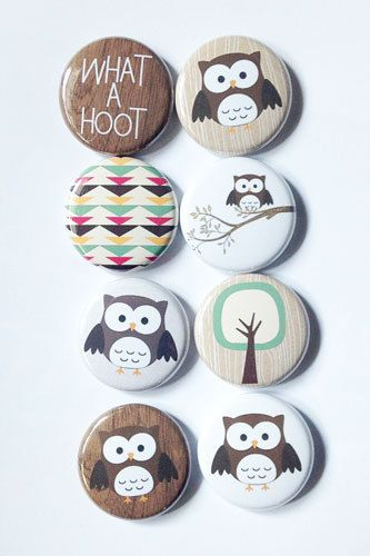 What a HOOT Flair by aflairforbuttons on Etsy, $6.00 #aflairforbuttons #flairbuttons #flair #owls #whatahoot