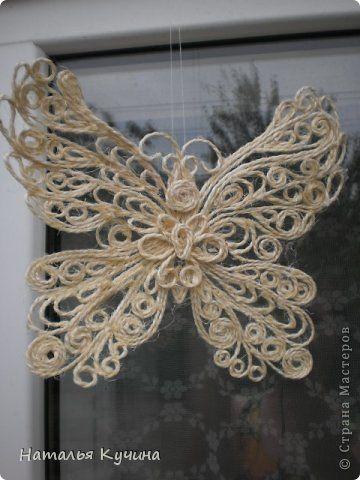 Вязание - Ароматическое панно из природного материала