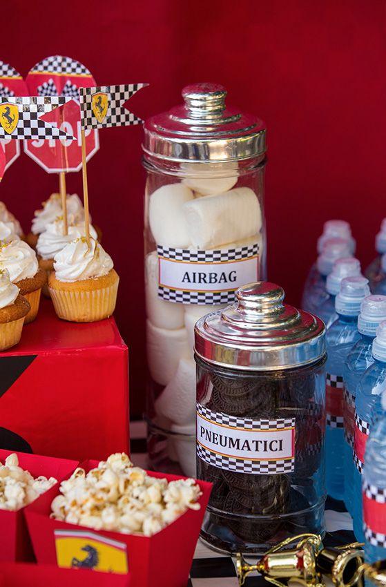 Idee golose per il nostro sweet table a tema auto da corsa