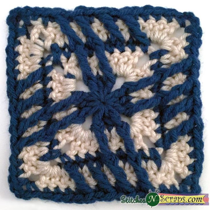 770 best Crochet Squares images on Pinterest | Cuadrados de la ...