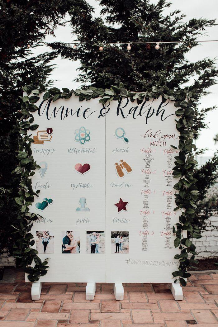60 Wedding Seating Chart Ideas Finishing Touches Wedding