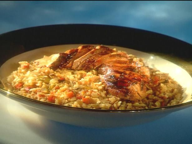 Get BBQ Pork Fried Rice Recipe from Food Network