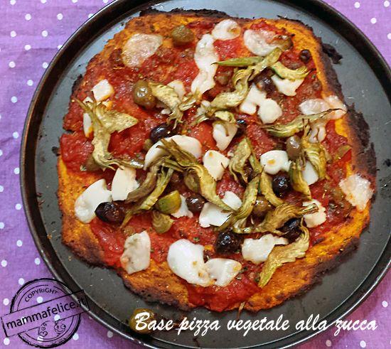 Base per la PIZZA VEGAN con base vegetale ai legumi (con i ceci), senza farina, senza lievito, senza glutine, senza grassi, SUPER LIGHT per chi è a dieta.