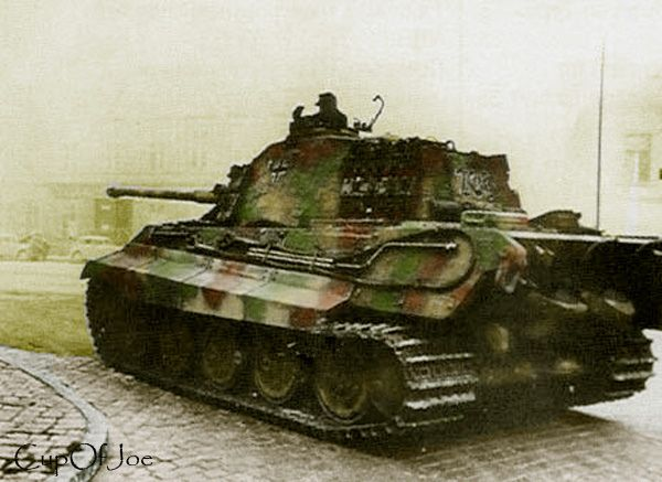 King Tiger Budapest 1944 | Flickr - Photo Sharing!