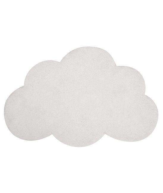 vloerkleed wolk wit - Mevrouw Aardbei
