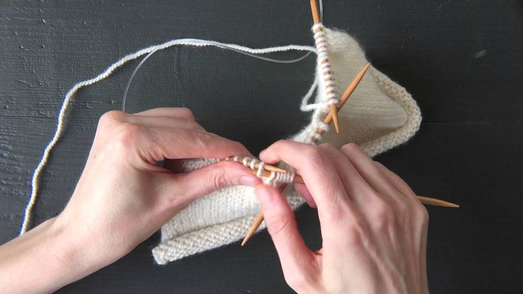 Knitting A Box Pleat