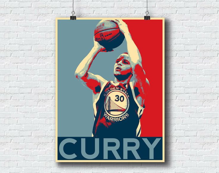 Stephen Curry Print - Golden State Warriors Basketball Printable Wall Art Home Decor Hope NBA Print Sports Poster - 18x24 Format Warriors by SplendidPrintables on Etsy https://www.etsy.com/listing/252143850/stephen-curry-print-golden-state