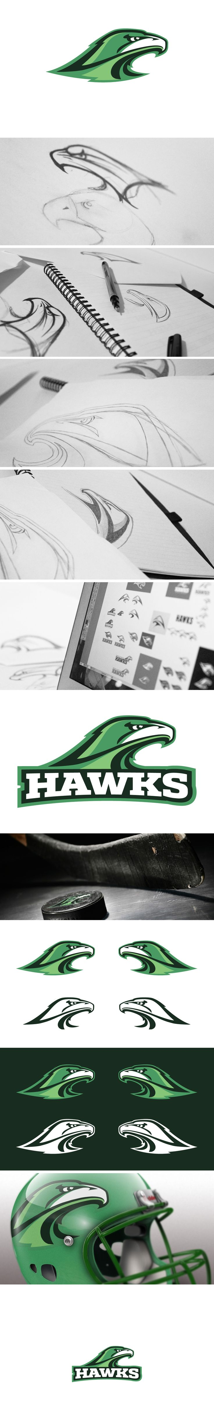 Hawks Logo Concept on Behance