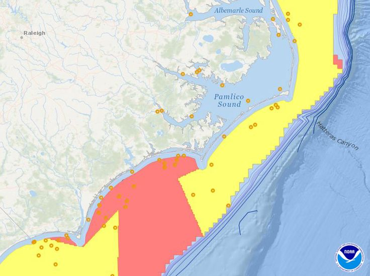 Ocean planners in North Carolina created the North Carolina Task Force to work on siting offshore wind energy with the hopes for avoiding ocean conflict. MarineCadastre.gov created a mashup with relevant #ocean #data to save planners time and have everything they needed in one place.