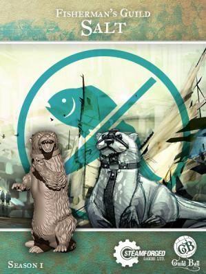 Steam Forge Games - GuildBall: Fisherman: Salt #STFBFIS01-003