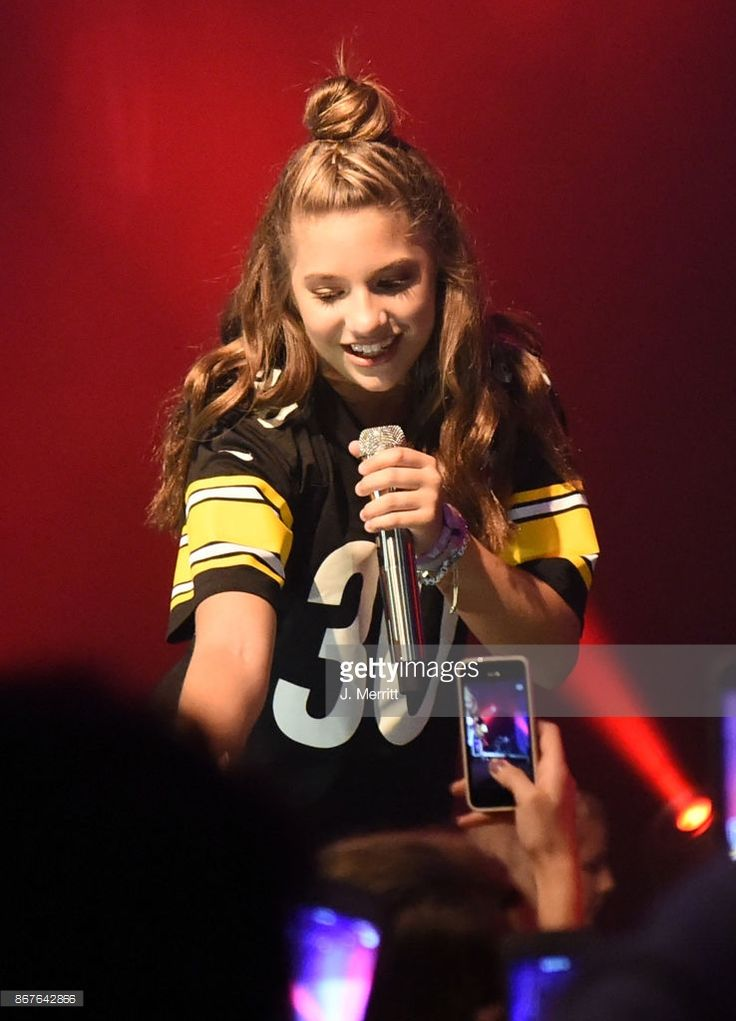 Mackenzie Ziegler performs during the 'Day & NIght' tour at Mr Smalls on October 28, 2017 in Millvale, Pennsylvania.