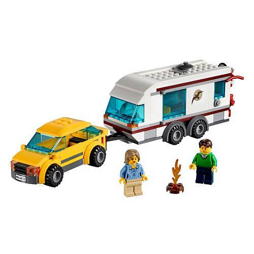 """LEGO City Car and Caravan (4435) - LEGO - Toys """"R"""" Us"""