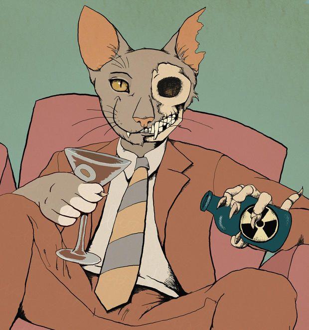 The Art of Schrodinger's Cat   Mental Floss