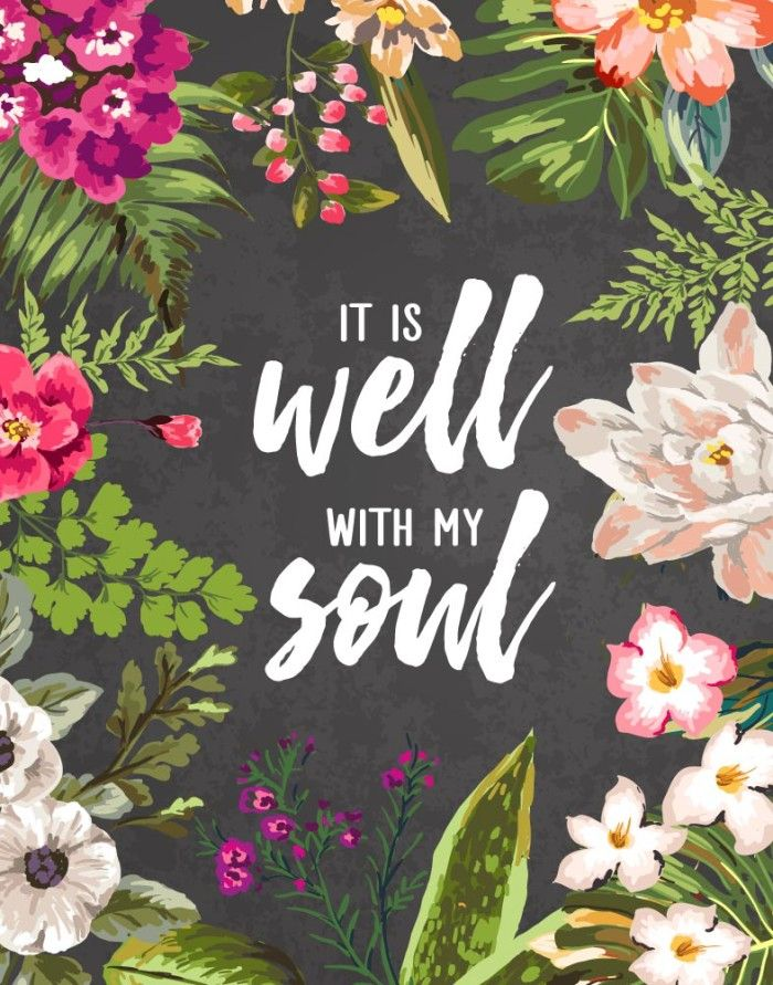 My soul, wait silently for God alone, For my expectation is from Him. He only is my rock and my salvation; He is my defense; I shall not be moved. In God is my salvation and my glory; The rock of my strength, And my refuge, is in God. Psalm 62:5-7