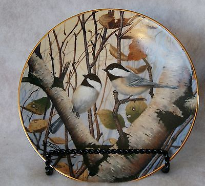 """""""Black Caps and Tails"""" Black-Capped Chickadees My Backyard Wilderness Collection"""