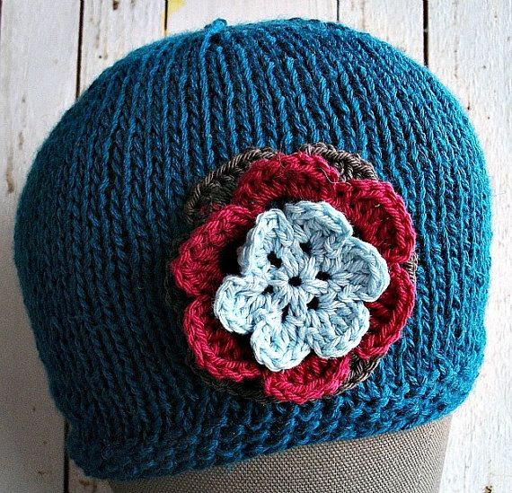 Great chemo cap for yourself or a friend. Spring & Summer Peacock Proud Flowered Hat Gift by wishestogether, $23.50