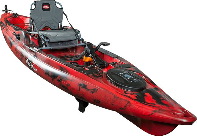 Predator PDL is the newest kayak from Old Town, and its introduction into the pedal drive community at this year's ICAST 2016 show.