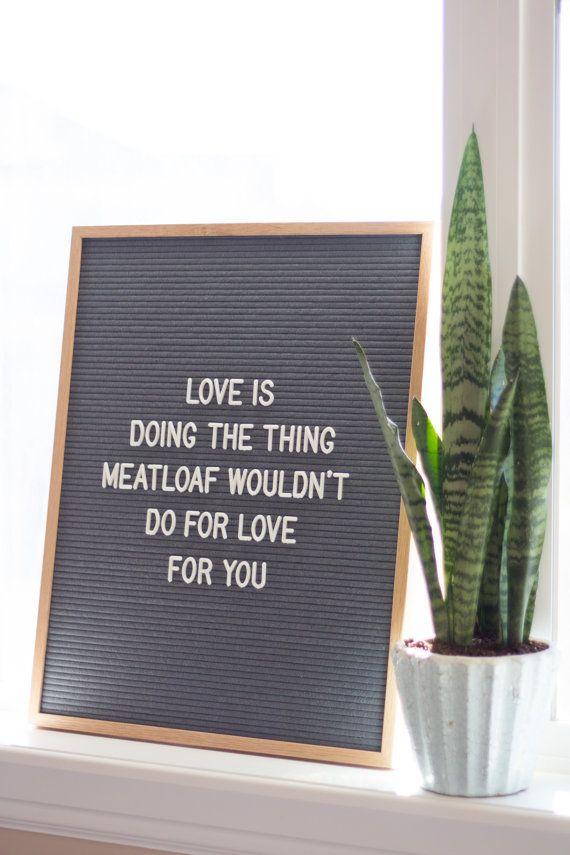 16x20 letter board w 290 characters grey felt light oak wood frame