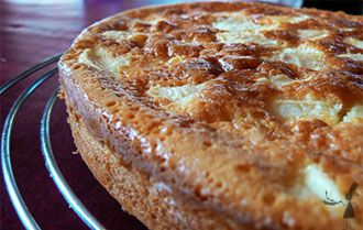 Gateau breton aux pommes et confiture de lait - Recettes Bretonnes
