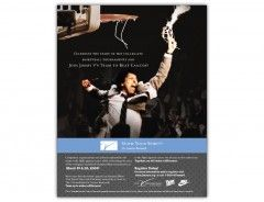 Check out this Ad for The Jimmy V Foundation's Show Your Spirit Campaign!
