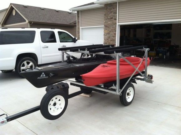 How To Build A Kayak Trailer
