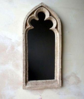 Specchio gotico singolo da giardino