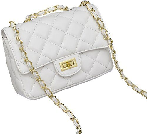 New Trending Shoulder Bags: Covelin Womens Leather Fashion Handbag Quilting Envelope Cross Body Shoulder Bag White. Covelin Women's Leather Fashion Handbag Quilting Envelope Cross Body Shoulder Bag White  Special Offer: $22.99  199 Reviews MATERIALS: Superior pu leather. Turn-lock closure, easy for opening and closing while adding the security of the stuff inside. Along with flat and bright...