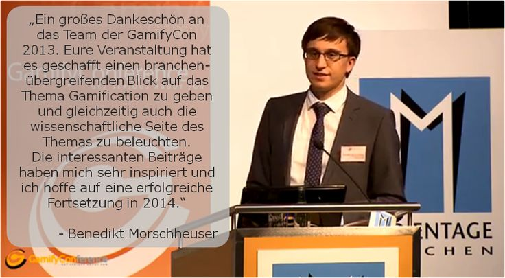 Benedikt Morschheuser about the Gamify Conference 2013:  #gamification #gamifycon